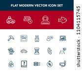 modern  simple vector icon set...   Shutterstock .eps vector #1104115745
