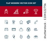 modern  simple vector icon set... | Shutterstock .eps vector #1104122756