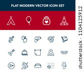 modern  simple vector icon set... | Shutterstock .eps vector #1104125912