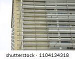 adjustable facade shading ... | Shutterstock . vector #1104134318