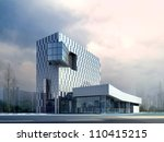 3d business building | Shutterstock . vector #110415215