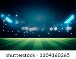 lights at night and stadium 3d... | Shutterstock . vector #1104160265