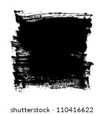 black grungy vector abstract... | Shutterstock .eps vector #110416622