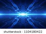 vector abstract futuristic high ... | Shutterstock .eps vector #1104180422