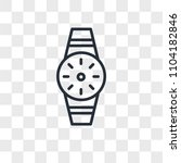 smartwatch vector icon isolated ... | Shutterstock .eps vector #1104182846