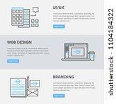 vector web banners  ui ux  web...