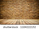 old wood plank with abstract...   Shutterstock . vector #1104222152