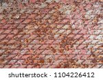 textured metal surface covered... | Shutterstock . vector #1104226412