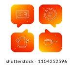 saucepan  vase and heat...   Shutterstock .eps vector #1104252596