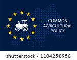 common agricultural policy on... | Shutterstock .eps vector #1104258956