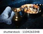 scenery baths hammam  spa... | Shutterstock . vector #1104263348