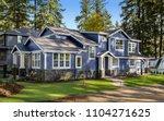 beautiful exterior of newly... | Shutterstock . vector #1104271625