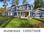 beautiful exterior of newly... | Shutterstock . vector #1104271628