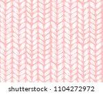 seamless pattern of knitting... | Shutterstock .eps vector #1104272972
