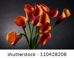 Bouquet Of Orange Calla Lily ...