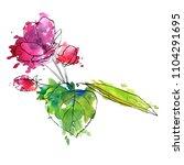 vector drawing apple tree...   Shutterstock .eps vector #1104291695