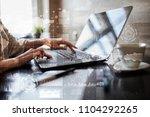 business process  workflow... | Shutterstock . vector #1104292265