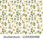vector seamless pattern. pretty ... | Shutterstock .eps vector #1104300488