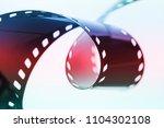 photographic film strip    Shutterstock . vector #1104302108
