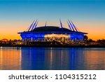 saint petersburg  russia  may... | Shutterstock . vector #1104315212