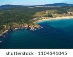 aerial view of kavatsite   sand ... | Shutterstock . vector #1104341045