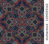 seamless pattern based on... | Shutterstock .eps vector #1104353162