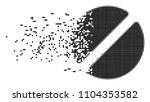 dispersed pharmacy tablet dot... | Shutterstock .eps vector #1104353582
