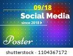 minimalistic gradient...   Shutterstock .eps vector #1104367172