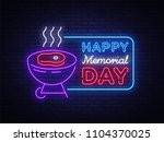 happy greeting card for... | Shutterstock . vector #1104370025