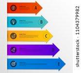 infographic design template.... | Shutterstock .eps vector #1104379982