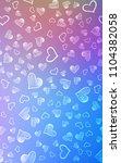 light blue  red vertical... | Shutterstock . vector #1104382058