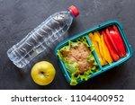 healthy food concept  | Shutterstock . vector #1104400952