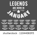legends are born in various... | Shutterstock .eps vector #1104408395