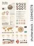 detail infographic illustration.... | Shutterstock . vector #110442578