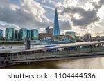 london  uk   appril 26  2018 ... | Shutterstock . vector #1104444536