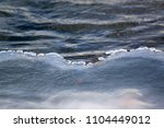 winter and frozen climate | Shutterstock . vector #1104449012