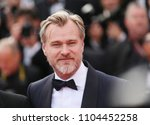 christopher nolan attends the... | Shutterstock . vector #1104452258