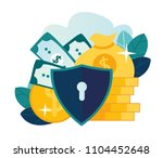 vector flat illustration ... | Shutterstock .eps vector #1104452648