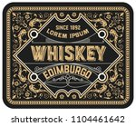 vintage label. suitable for... | Shutterstock .eps vector #1104461642