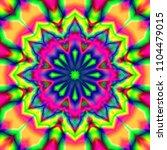 beautiful kaleidoscope ... | Shutterstock . vector #1104479015