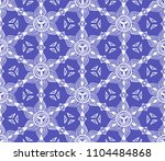 ikat tribal art print. seamless ...   Shutterstock .eps vector #1104484868