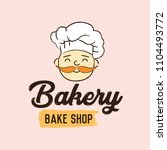 bakery elements vector... | Shutterstock .eps vector #1104493772
