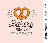 bakery elements vector... | Shutterstock .eps vector #1104493775