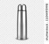 vector realistic 3d empty... | Shutterstock .eps vector #1104495998