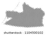 football ball kaliningrad...   Shutterstock .eps vector #1104500102