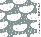 seamless cute pattern with...   Shutterstock .eps vector #1104503942