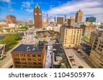 milwaukee  wisconsin  usa... | Shutterstock . vector #1104505976