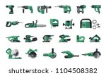big flat icon collection of... | Shutterstock .eps vector #1104508382