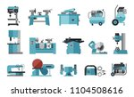 flat icon collection of... | Shutterstock .eps vector #1104508616