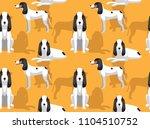 dog ariegeois cartoon... | Shutterstock .eps vector #1104510752